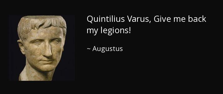 Augustus'un söylediği iddia edilen ünlü söz